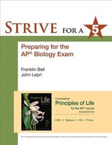 Strive For 5: Preparing For The Ap Biology Examination - NA, NA - ISBN: 9781464186523