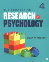Process Of Research In Psychology - Mcbride, Dawn M. - ISBN: 9781544323497