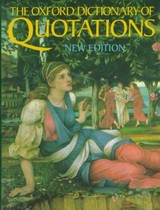 The Oxford Dictionary Of Quotations - Partington, Angela (EDT) - ISBN: 9780198661856