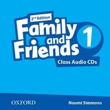 Family And Friends: Level 1: Class Audio Cds - ISBN: 9780194808224