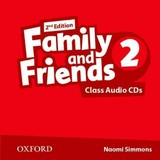 Family And Friends: Level 2: Class Audio Cds - ISBN: 9780194808231