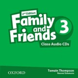 Family And Friends: Level 3: Class Audio Cds - ISBN: 9780194808248