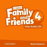 Family And Friends: Level 4: Class Audio Cds - ISBN: 9780194808255