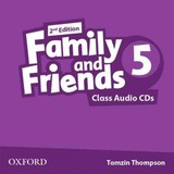 Family And Friends: Level 5: Class Audio Cds - ISBN: 9780194808262