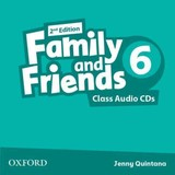 Family And Friends: Level 6: Class Audio Cds - ISBN: 9780194808279