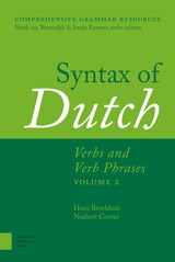 Syntax of Dutch - Hans  Broekhuis - ISBN: 9789048524839