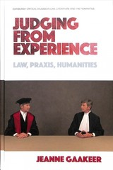 Judging From Experience - Gaakeer, Jeanne - ISBN: 9781474442480