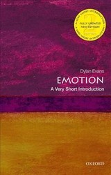Emotion: A Very Short Introduction - Evans, Dylan - ISBN: 9780198834403