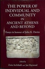 Power Of The Individual In Ancient Athens - Archibald, Zosia - ISBN: 9781910589731