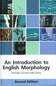 Introduction To English Morphology - Carstairs-mccarthy, Andrew - ISBN: 9781474428965