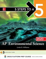 5 Steps To A 5: Ap Environmental Science 2020 - Williams, Linda - ISBN: 9781260455755