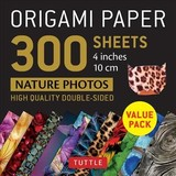 Origami Paper 300 Sheets Nature Photo Patterns 4 Inch (10 Cm) - Tuttle Publishing - ISBN: 9780804852081