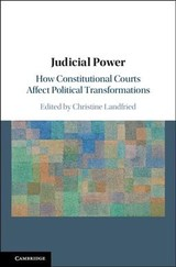 Judicial Power - Landfried, Christine (EDT) - ISBN: 9781108425667