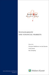 Sustainability and financial markets - ISBN: 9789013153484