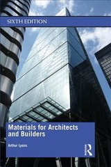Materials For Architects And Builders - Lyons, Arthur - ISBN: 9780815363392