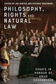 Philosophy, Rights And Natural Law - Hunter, Ian (EDT)/ Whatmore, Richard (EDT) - ISBN: 9781474449229
