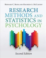 Research Methods And Statistics In Psychology - Beins, Bernard C. (ithaca College, New York); Mccarthy, Maureen A. (ball State University, Indiana) - ISBN: 9781108423113