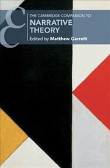 Cambridge Companions To Literature - Garrett, Matthew (EDT) - ISBN: 9781108428477