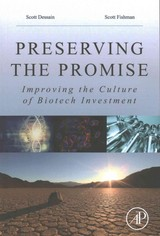 Preserving the Promise - Fishman, Scott E.; Dessain, Scott - ISBN: 9780128092163