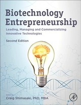 Biotechnology Entrepreneurship - ISBN: 9780128155851