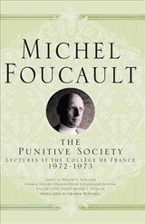 Punitive Society - Foucault, Michel - ISBN: 9781403986610