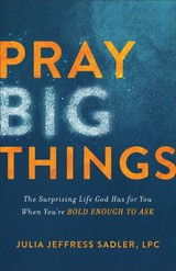 Pray Big Things - Sadler, Julia Jeffress - ISBN: 9780801093364