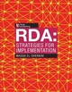 Rda: Strategies For Implementation - El-sherbini, Magda - ISBN: 9781783302345