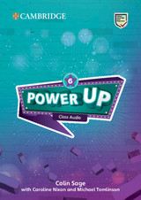 Power Up Level 6 Class Audio Cds (5) - Sage, Colin - ISBN: 9781108413619
