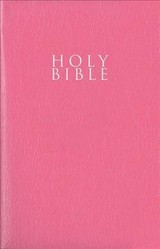 Niv, Gift And Award Bible, Leather-look, Pink, Red Letter Edition, Comfort Print - Zondervan, Zondervan - ISBN: 9780310450429