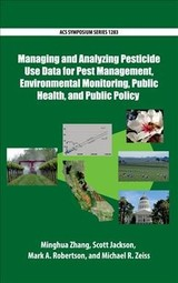 Managing And Analyzing Pesticide Use Data For Pest Management, Environmental Monitoring, Public Health, And Public Policy - Zhang, Minghua (EDT)/ Jackson, Scott (EDT)/ Robertson, Mark A. (EDT)/ Zeiss, Michael R. (EDT) - ISBN: 9780841232907