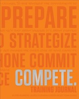 Compete Training Journal (tangerine Edition) - Fleshman, Lauren; Mcgettigan-dumas, Roisin - ISBN: 9781948007085