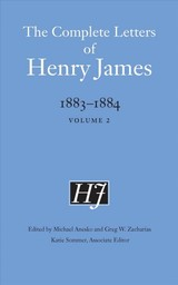 Complete Letters Of Henry James, 1883-1884 - James, Henry - ISBN: 9781496215109