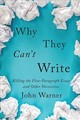 Why They Can't Write - Warner, John - ISBN: 9781421427102