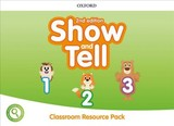 Show And Tell: Level 1-3: Classroom Resource Pack - ISBN: 9780194054751