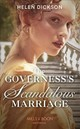 Governess's Scandalous Marriage - Dickson, Helen - ISBN: 9780263269260