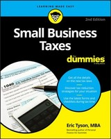 Small Business Taxes For Dummies - Tyson, Eric - ISBN: 9781119517849