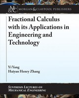 Fractional Calculus With Its Applications In Engineering And Technology - Yang, Yi; Zhang, Haiyan Henry - ISBN: 9781681735160