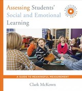 Assessing Students' Social And Emotional Learning - McKown, Clark - ISBN: 9780393713350