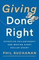 Giving Done Right - Buchanan, Phil - ISBN: 9781541742253