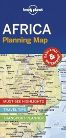 Lonely Planet Africa Planning Map - Lonely Planet - ISBN: 9781788685894