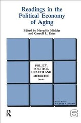 Readings In The Political Economy Of Aging - Minkler, Meredith; Estes, Carroll L. - ISBN: 9780415785594