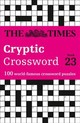 Times Cryptic Crossword Book 23 - The Times Mind Games; Rogan, Richard - ISBN: 9780008285401