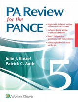 Pa Review For The Pance - Kinzel, Julie; Auth, Patrick - ISBN: 9781496384188