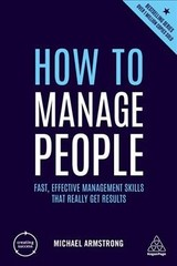How To Manage People - Armstrong, Michael - ISBN: 9780749484811
