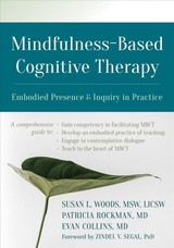 Mindfulness-based Cognitive Therapy - Woods, Susan - ISBN: 9781684031504