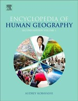 International Encyclopedia of Human Geography - ISBN: 9780081022955