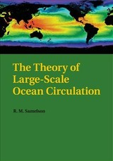 Theory Of Large-scale Ocean Circulation - Samelson, R. M. (professor, Oregon State University) - ISBN: 9781108446709