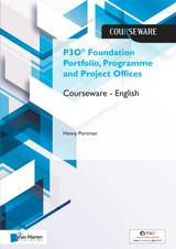 P3O® Foundation Portfolio, Programme and Project Offices Courseware â English - Henny  Portman - ISBN: 9789401804554