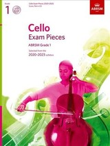 Cello Exam Pieces 2020-2023, Abrsm Grade 1, Score, Part & Cd - Abrsm - ISBN: 9781786012333