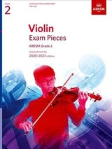 Violin Exam Pieces 2020-2023, Abrsm Grade 2, Part - Abrsm - ISBN: 9781786012401